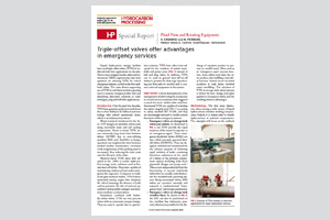 DOWNLOAD 'TRIPLE OFFSET VALVES OFFER ADVANTAGES IN ESD SERVICE'